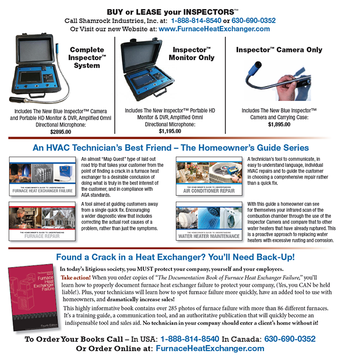 Furnace Heat Exchanger: Fall 2014 Newsletter Extras